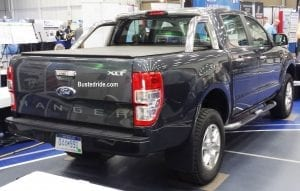 Ford Ranger Spy pictures